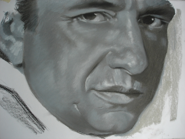 Johnny Cash by ceceach